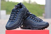 Кроссовки мужские  Nike Air Max 95 синие, фото 3