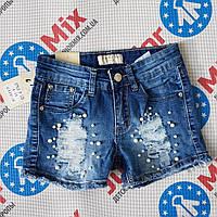 Джинсовые стильные шорты на девочку  Boom kids