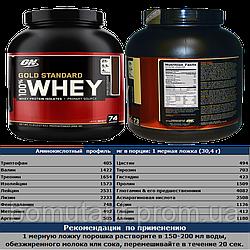 Whey Gold Standard 2273 гр Optimum Nutrition (USA)