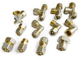 Цанговые фитинги для металлопластиковых труб gross