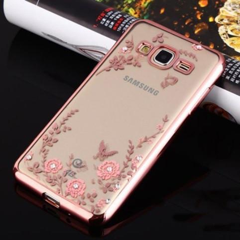 Чохол для Galaxy J3 2016 / Samsung J320 / J3109 Flowers
