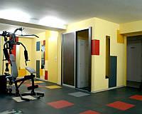Спортивное резиновое покрытие для спортзалов