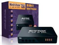 Цифровой эфирный приемник стандарта DVB-T2 World Vision T59