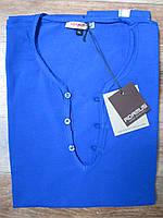 Стильная синяя футболка от итальянского бренда