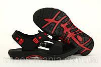 Босоножки Adidas 2014 черно-красные, фото 1