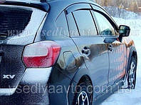 Дефлекторы окон на Subaru XV с 2009 г. (HIC)
