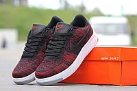 Кроссовки Nike (черный с красным)