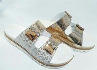 Шлепанцы кожаные купить женские Л3 апр ЯрА