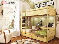 Кровать ДУЕТ (массив) 80*190, фото 1