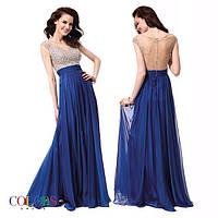 Красивое выпускное платье с открытой спиной