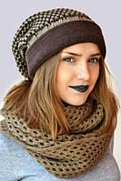 Модная зимняя шапка