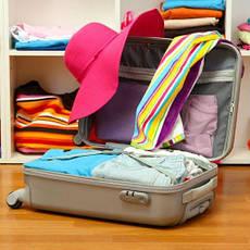 Чемоданы, сумки, рюкзаки