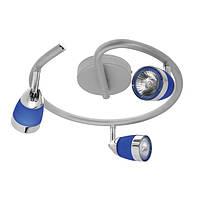 Настенно-потолочный светильник CTK90-3/1-BL PAOLA