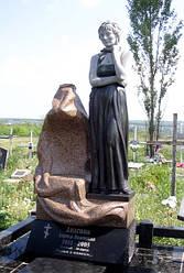 Скульптура женщины из гранита № 2