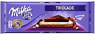 Шоколад Milka Triolade (три шоколада) 300г.Германия