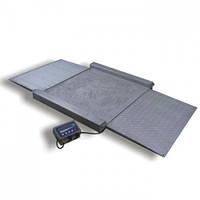 Весы наездные электронные обычного исполнения Техноваги ТВ4-1500-0,5-Н(1250х1250)-S-12e