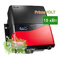 PrimeVOLT PV-15000 T-U солнечный сетевой инвертор (15 кВт, 3 фазы, 2 трекера)