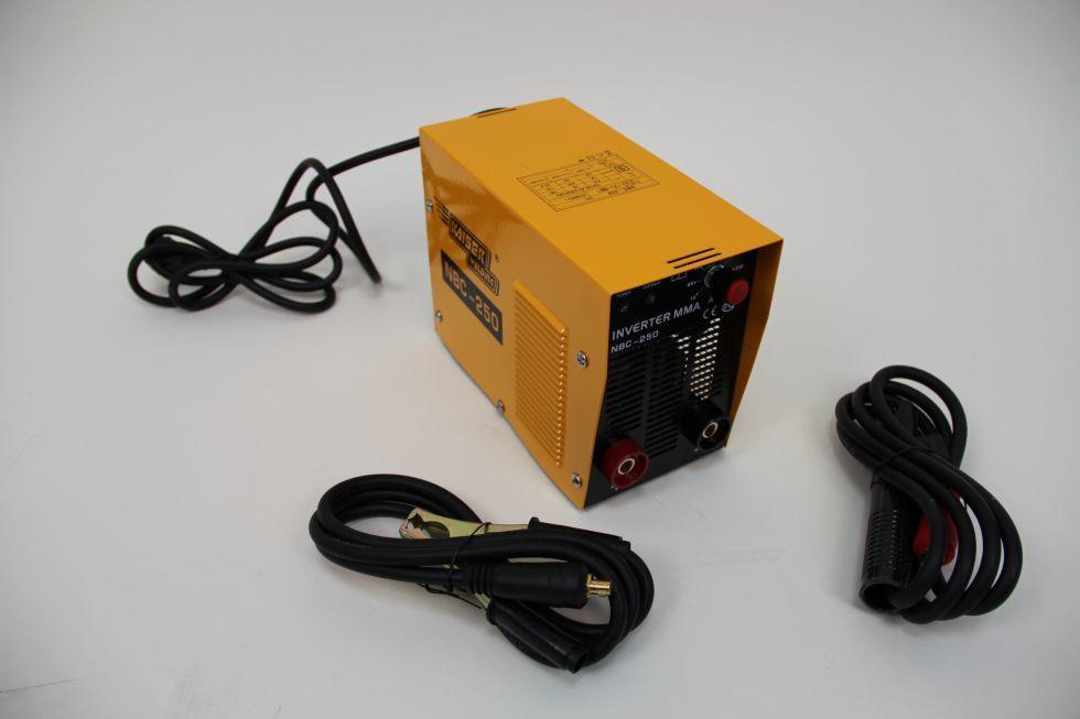 Сварочный инвертор Kaiser NBC-200 PROFI, в чемодане