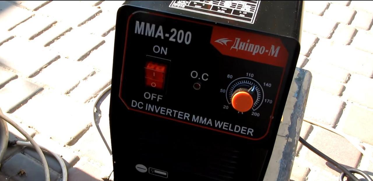 Сварочный инвертор Днипро-М ММА (MOS), 200