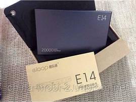 Универсальная батарея Eloop E14 power bank 20000mAh Green 100% , фото 3