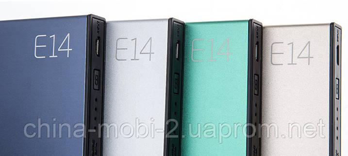 Универсальная батарея Eloop E14 power bank 20000mAh Green 100%