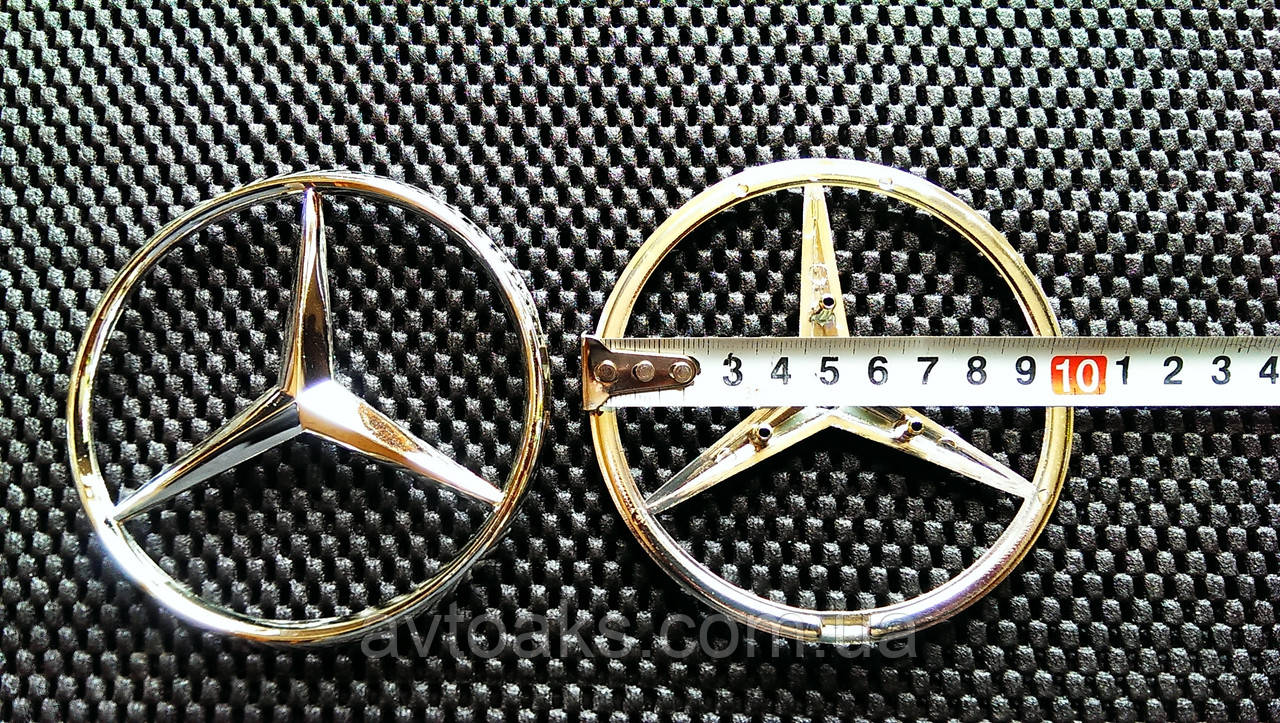 Эмблема Mercedes Vito 80 и 100 мм, задняя