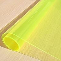 Тонировка фар ярко-желтая 100х40 см