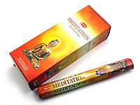 Благовония Meditation Hem 20шт/уп. Аромапалочки Медитация (28173)