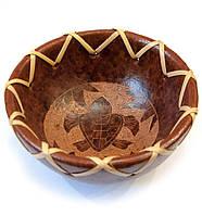 """Блюдо терракотовое """"Черепаха"""" d-10см h-5см (30269A)"""
