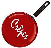 Сковорода блинная Granchio Crepe красная 26 см. 88272