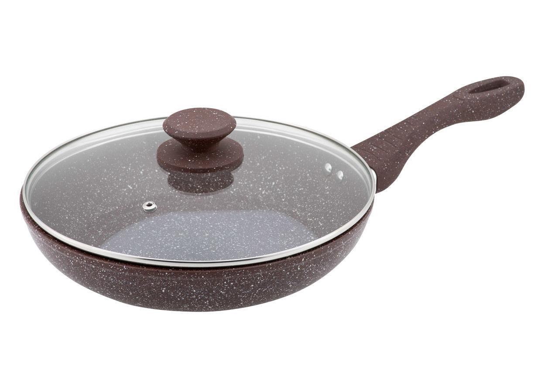 Сковорода с крышкой Granchio, Pietra naturale induzione,  24х5,5 см 88156