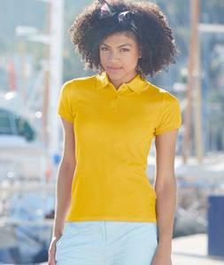 Женская футболка поло Премиум