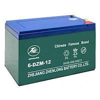 Стартерный аккумулятор ZHEN LONG 6-DZM12