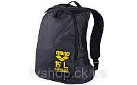 Ранец спортивный DAYPACK ARENA AR-93576-53 DRY (PL, р-р 35*16*50см, черный-желтый)