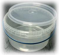Ведро полиэтиленовое прозрачное  0,5 л.