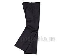 Школьные черные брюки Юность 110 для девочки 32 (Р-134, ОГ-68, ОТ-66)