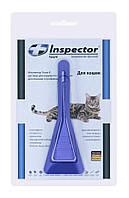 Инспектор Тотал К (Inspector Total K) капли на холку для кошек до 4 кг, 1 пип.*0,4 мл, Экопром
