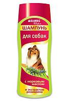 Шампунь Деликс Шарм для собак с длинной шерстью с норковым маслом и экстрактом розмарина, 250 мл
