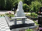 Скульптура девушки из мрамора № 3, фото 4