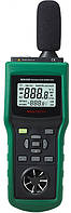 Многофункциональный прибор 5 в 1 Mastech MS6300 (шумомер, анемометр, термометр, люксметр и гигрометр)