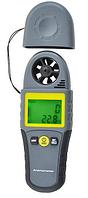 Анемометр Kecheng KC-280С (0,4 - 30,0 м/с; 0 - 100 %; 0 - 50 °C; 0 ~ 36000 CMM), точка росы