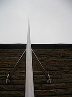 Молниеприемник L=6м, нержавеющая сталь