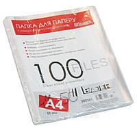 """Файлы А4 """"Leader"""" 50 мкм, 100 шт."""