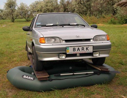 Лодки гребные bark
