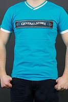 Однотонные мужские футболки с надписью