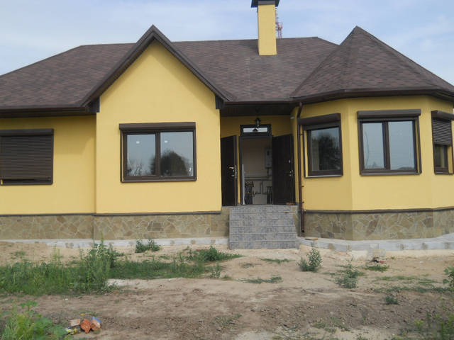 Очень теплый дом получился с помощью одного 12 кВт-ного котла