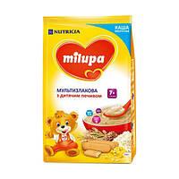 Milupa каша мультизлаковая с дет. печеньем 210 (230) г