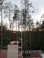 Молниеприемник L=4м, окрашенная сталь