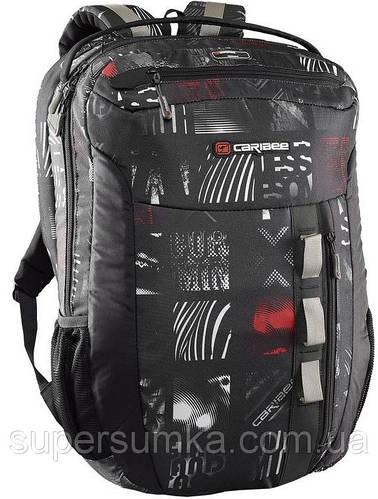 """Городской рюкзак для ноутбука 15,4"""", 22 л. Caribee Exec 22 Signature Print"""