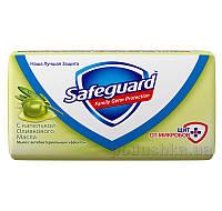 Мыло туалетное Safeguard c капелькой Оливкового Масла 90г